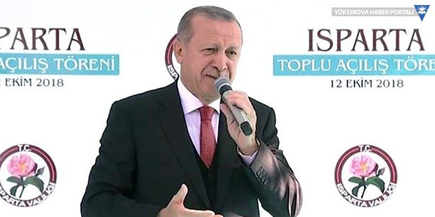 Erdoğan'dan toplu açılış mitinginde Menbiç mesajları
