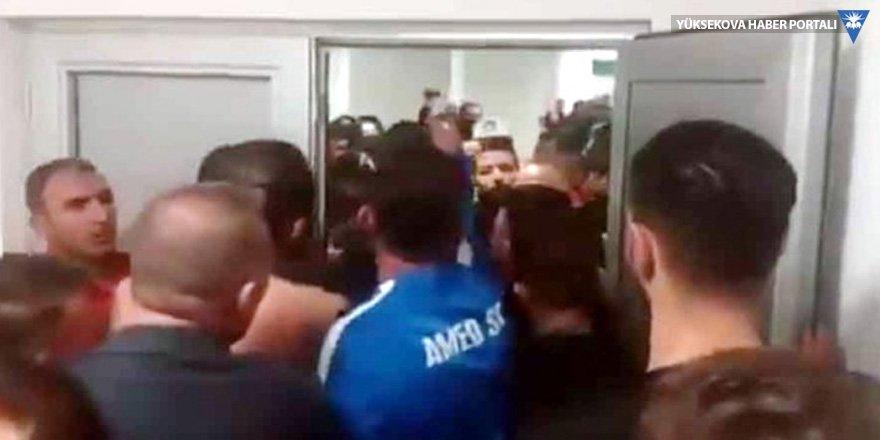 Amedsporlu futbolculara saldırı