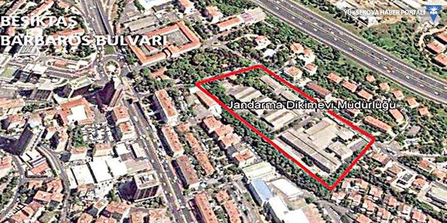 Beşiktaş'taki jandarma arazisi Astaş'a satıldı