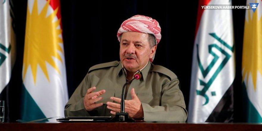 Mesud Barzani'den Erbil saldırısı için açıklama: Sorunlar Kürdistan'a taşınmasın