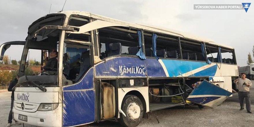 Göksun'da otobüs devrildi: 7 ölü