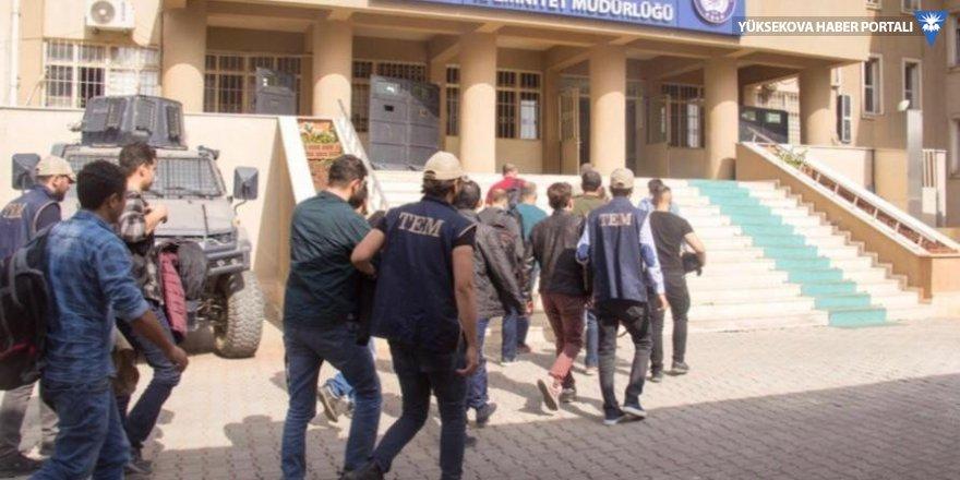 Şırnak merkezli 12 ilde FETÖ operasyonu: 17 gözaltı