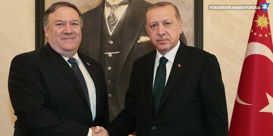 ABD: Pompeo Erdoğan'a Kaşıkçı için endişelerini iletti