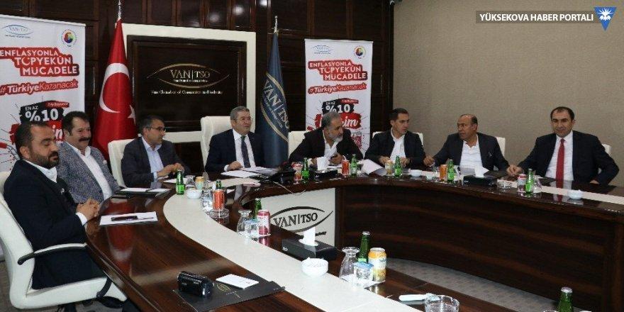 Van'da enflasyonla mücadele toplantısı