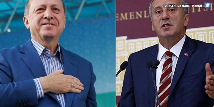 'AK Parti'nin İstanbul adayı İnce'ye bağlı'
