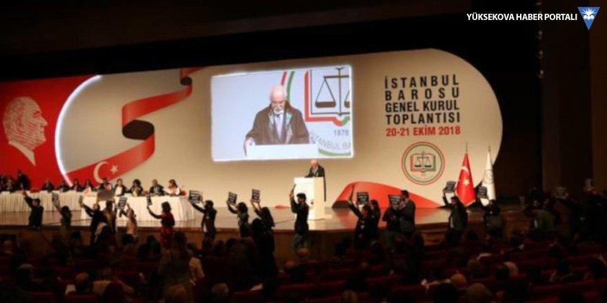 İstanbul Barosu'nda Genel Kurul başladı