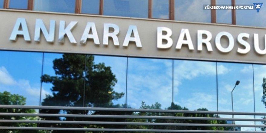 Ankara Barosu seçimlerinde saldırı