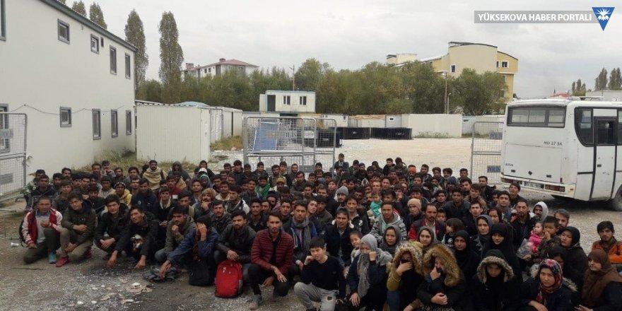 Van'da 167 kaçak şahıs yakalandı