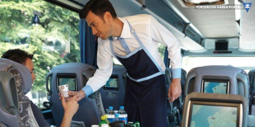 Otobüslerde ekonomik tasarruf: Firmalar ikramları durdurdu