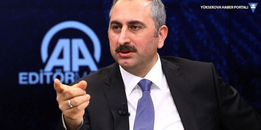 Adalet Bakanı Gül: Gürsel'e kelepçe kabul edilir değil