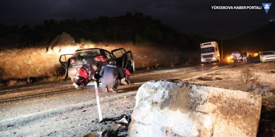 Tunceli'de feci kaza: 2 kişi hayatını kaybetti