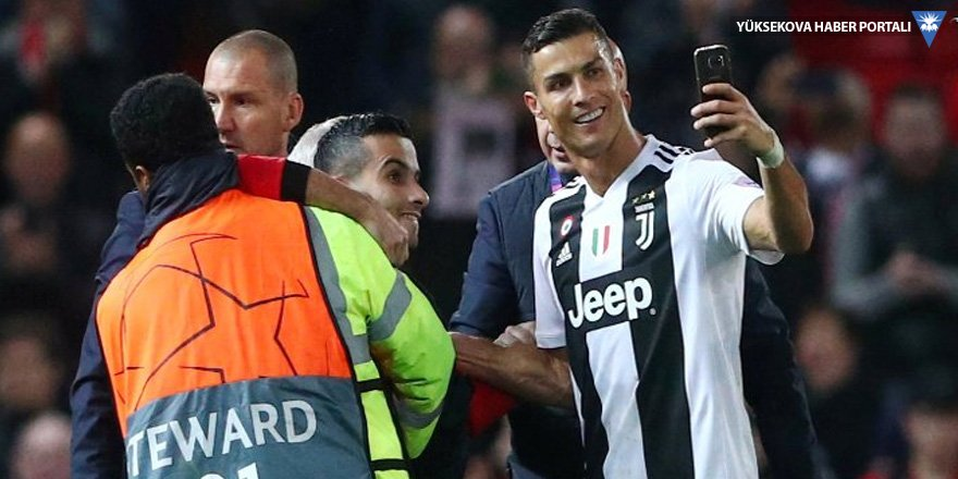 Ronaldo ile selfie çektiren Kürde ceza