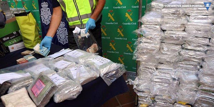 İspanya'da muz konteynerlerinde 6 ton kokain ele geçirildi