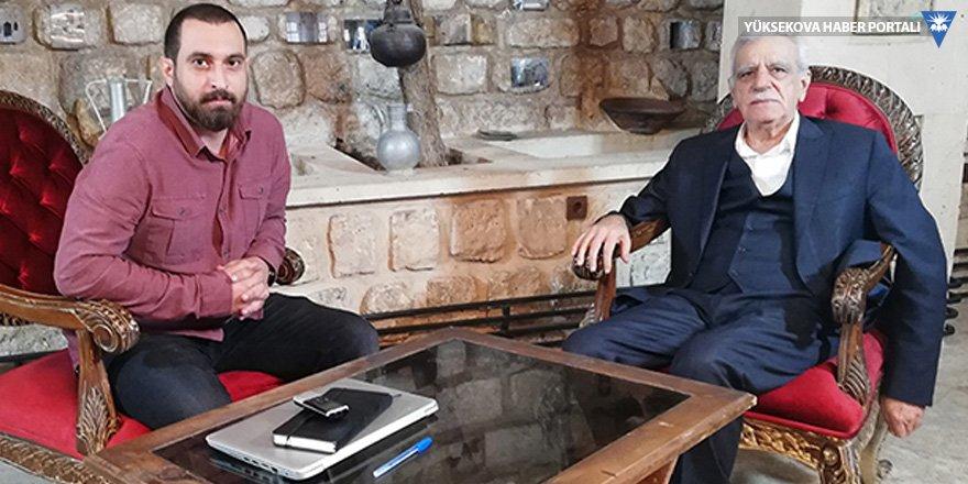 Ahmet Türk: Cumhurbaşkanı CHP'yi ürkütmeye çalışıyor