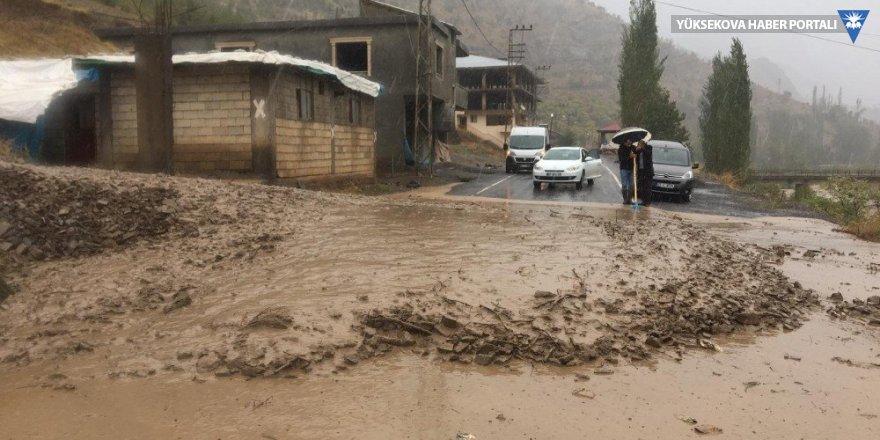 Şırnak'ta sel evleri vurdu
