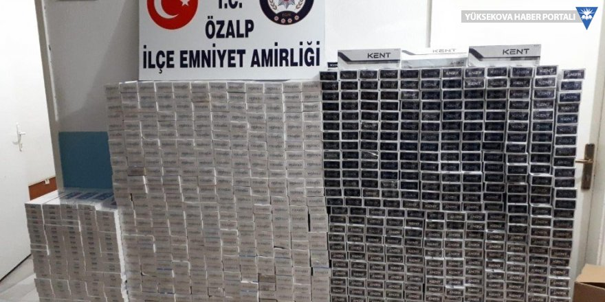 Van'da 9 bin 430 paket kaçak sigara ele geçirildi