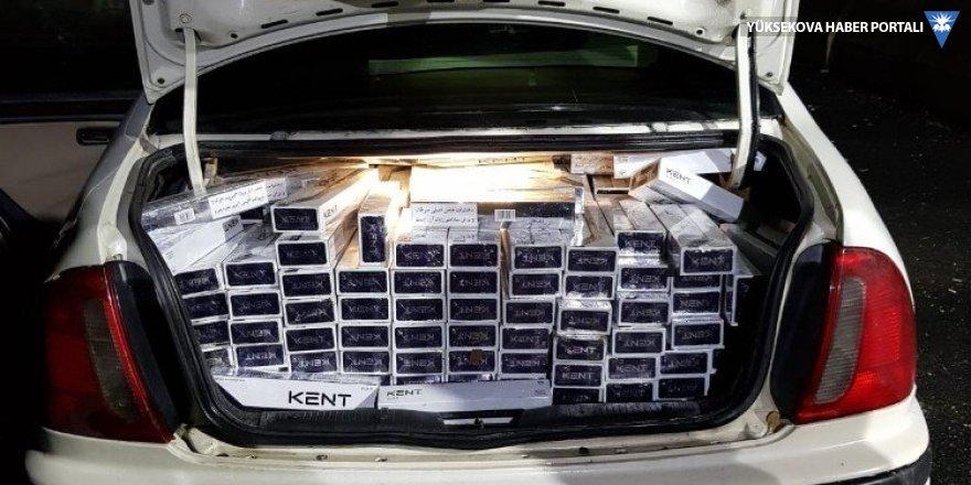 Van'da 4 bin 980 paket kaçak sigara ele geçirildi