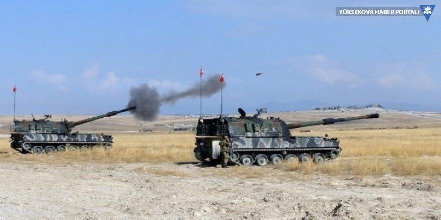 TSK'den Fırat'ın doğusuna top atışı