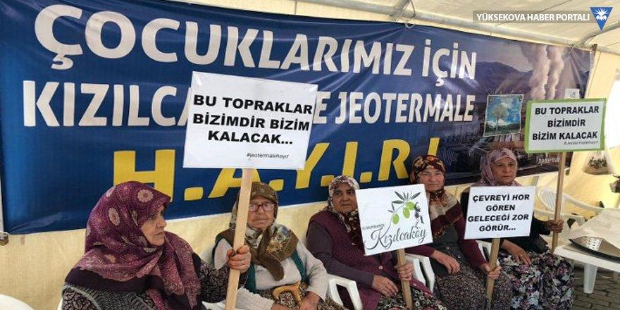 Kızılcaköy JES'e karşı!