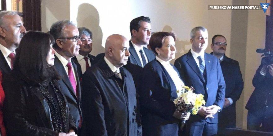 İyi Parti lideri Akşener, 40 milletvekili ile birlikte birinci Meclis'te
