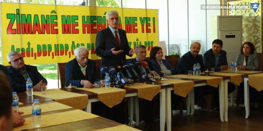 9 partiden 'Kürtçe konuşalım' kampanyası