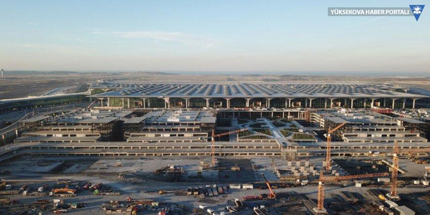 İstanbul'da Havalimanı ilk tarifeli uçuşa hazırlanıyor