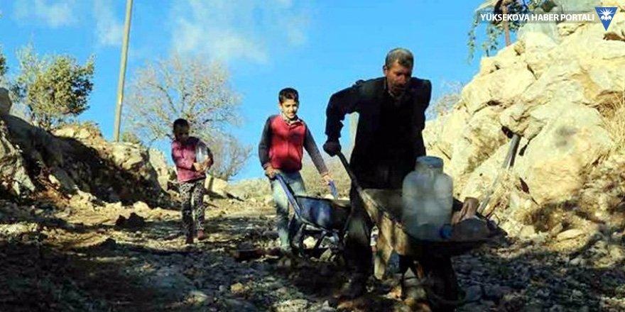 Şırnak'ta bir mahalle: Ne su var ne elektrik ne de yol