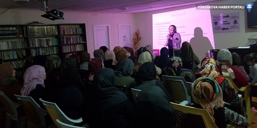 Şemdinli'de kadınlara eğitim programı düzenlendi