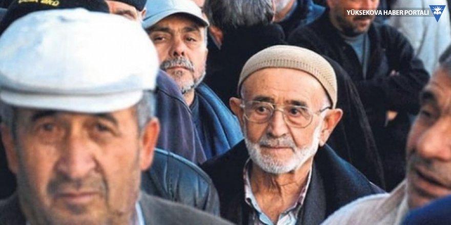 Türkiye'de 65 yaş üzeri nüfus yüzde 10