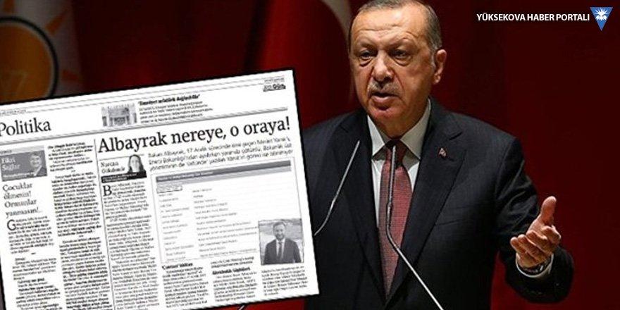 Berat Albayrak haberine 'Cumhurbaşkanına hakaret' davası