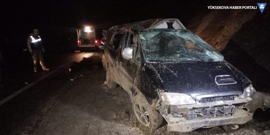 Van'da mültecileri taşıyan araç takla attı: 5 ölü, 16 yaralı
