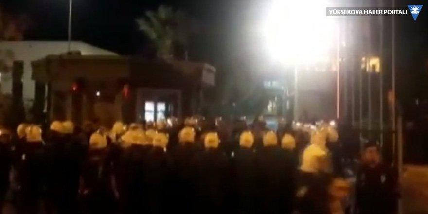 TARİŞ'te işçiler eylemde: 100 işçi gözaltına alındı