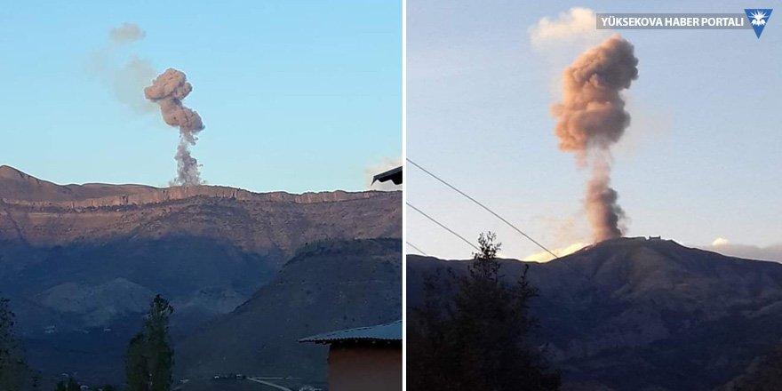 Şemdinli'de mühimmat patlaması: 25 asker yaralandı