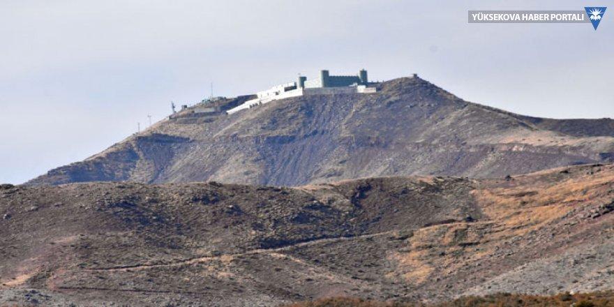 Şemdinli Süngü Tepe'deki yangın söndürüldü