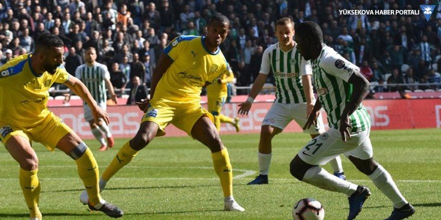 Konya'dan evinde net galibiyet: 2-0