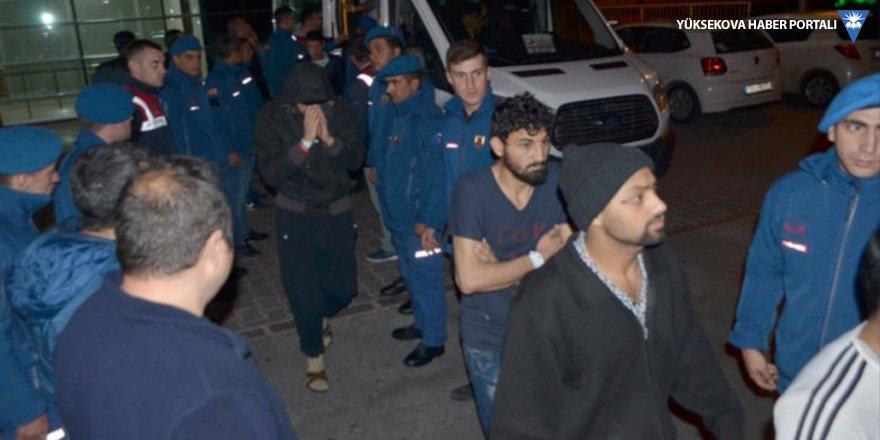 Kayseri'de 116 göçmen hastaneye kaldırıldı