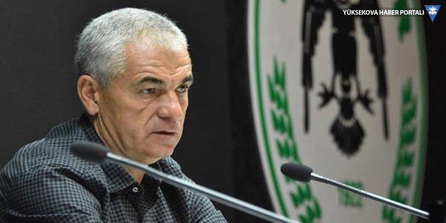 Konyaspor, Rıza Çalımbay'la yollarını ayırdı