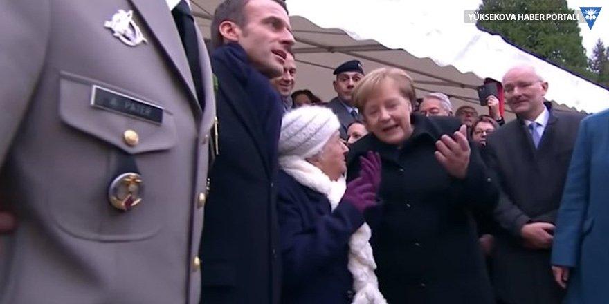Merkel: Ben Macron'un karısı değilim