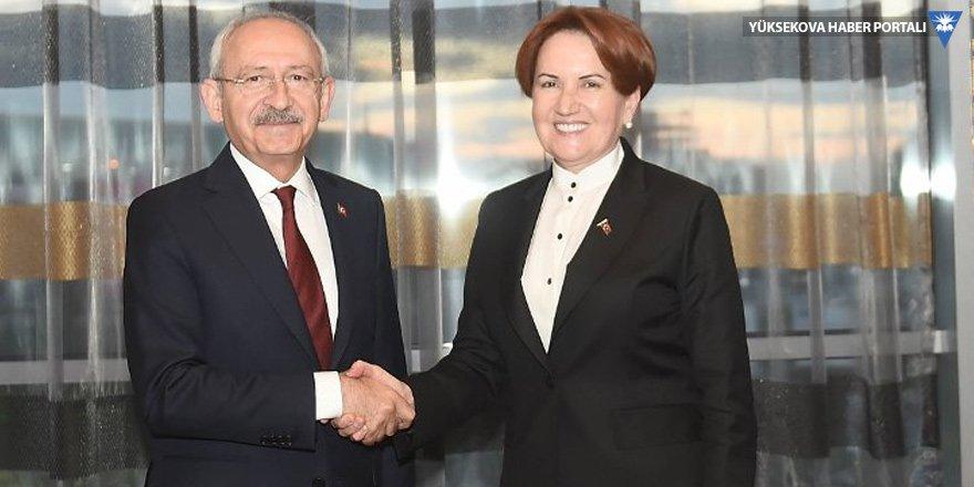 Kılıçdaroğlu, Akşener'le görüşecek!