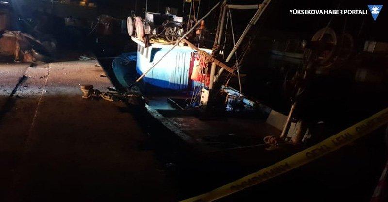 Balıkçı teknesinde cinayet