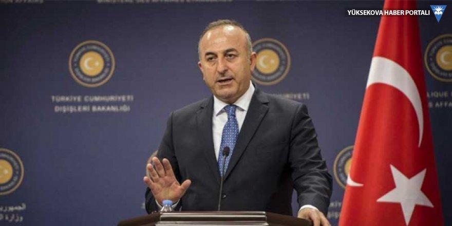 Çavuşoğlu'ndan ABD'ye Astana yanıtı