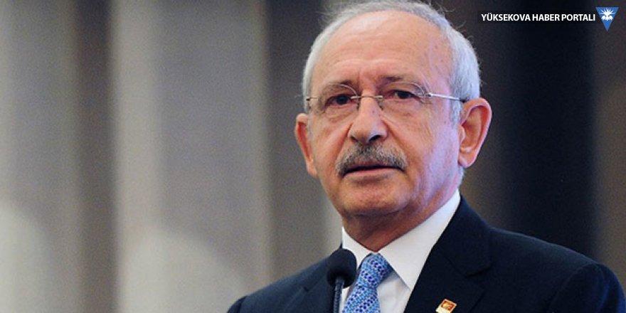 Kılıçdaroğlu: Erdoğan'ın haberi yoksa felaket, haberi varsa başka bir felaket