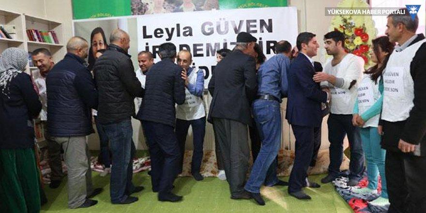 Leyla Güven'in açlık grevine Hakkari'den destek!
