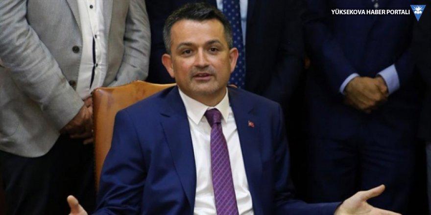 Tarım Bakanı Pakdemirli: Afrin'de gelir bize geçsin istiyoruz!