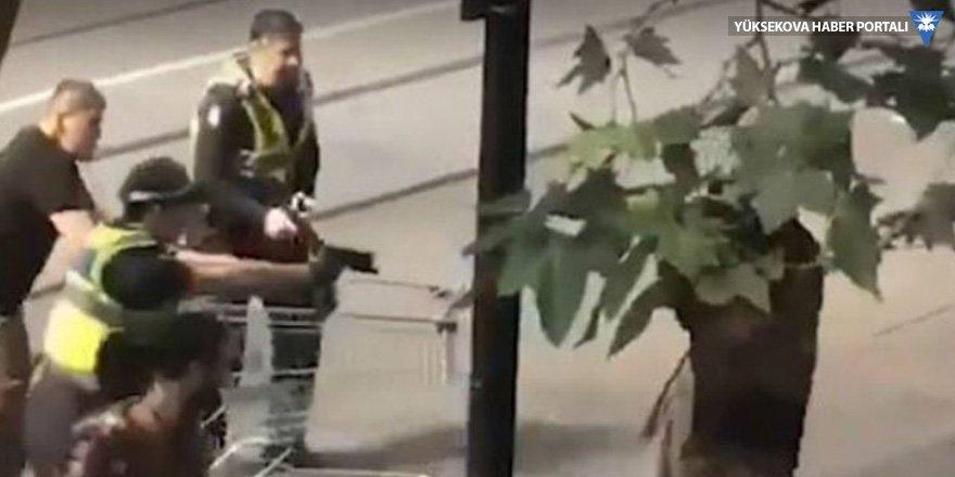 'Market arabalı kahramana' soygun suçlaması