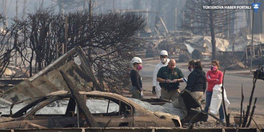 Kaliforniya'da ölü sayısı 77'ye yükseldi, 993 kişi kayıp