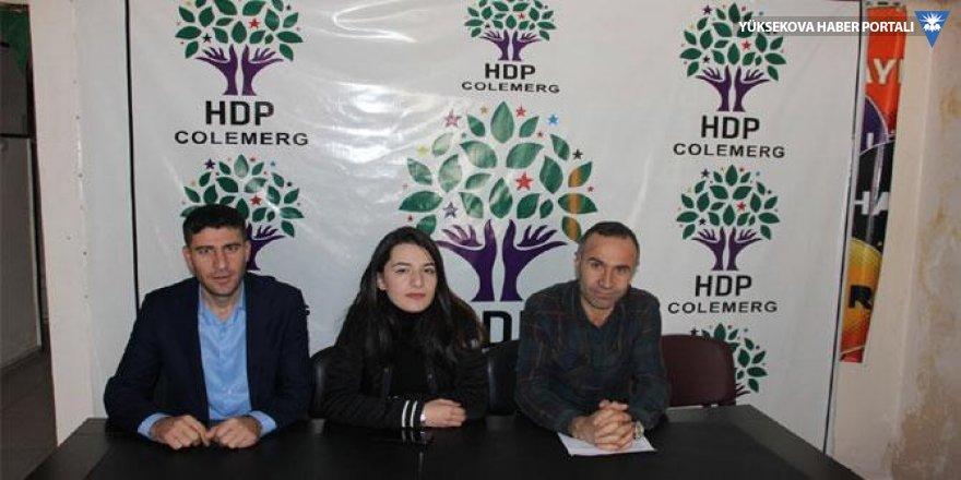 Hakkari HDP'den yerel seçim açıklaması