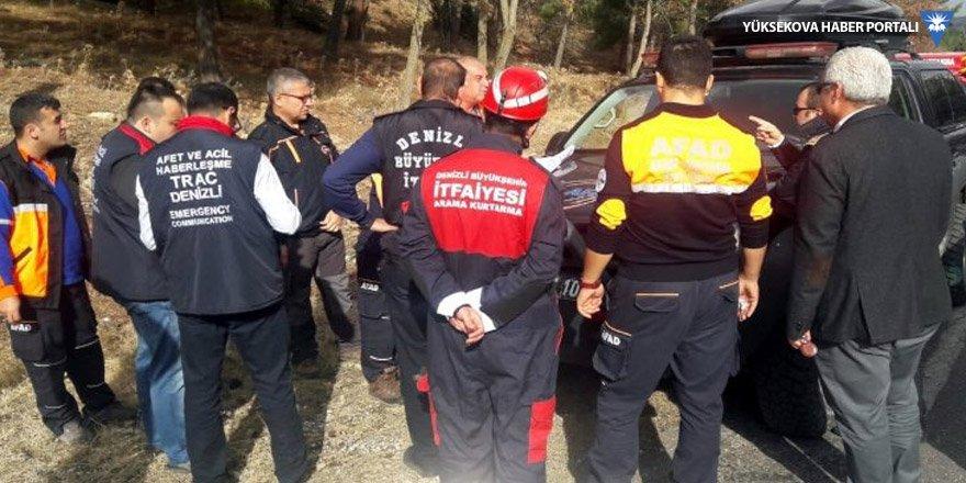 Denizli'de düşen uçak: Pilot ve öğrencisinin cesedine ulaşıldı