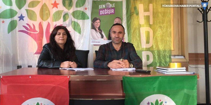 HDP Şemdinli ilçe yönetiminden kongre kararı