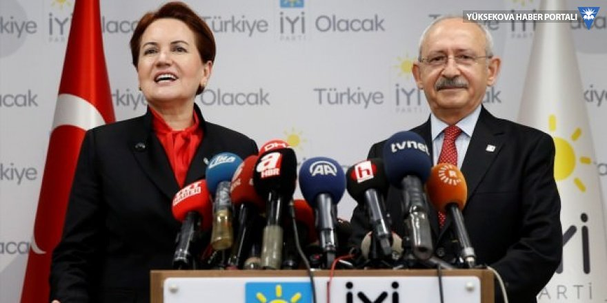 CHP ve İYİ Parti'den gece zirvesi
